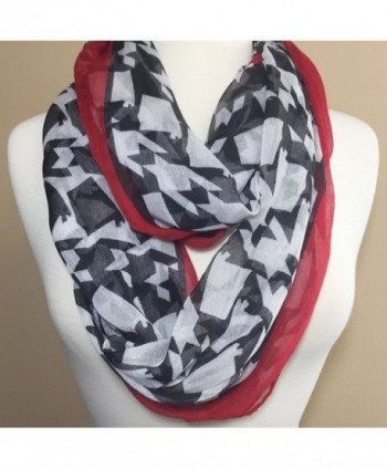 Alabama Shaped Houndstooth Lightweight Infinity