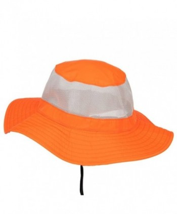 E4hats Safety boonie XL 2XL Orange in Men's Sun Hats