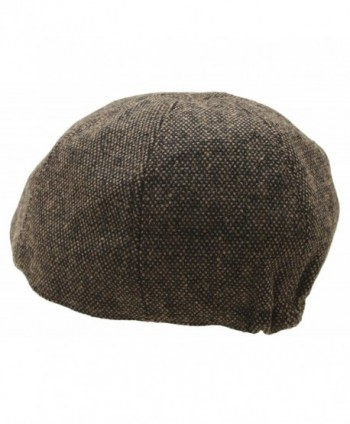Homespun Woolen Newsboy Gatsby Driving in Men's Newsboy Caps