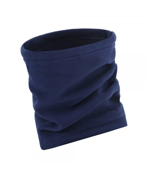 AStorePlus Fleece Reversible Headband Balaclava - Navy - CD12O5B7B6G