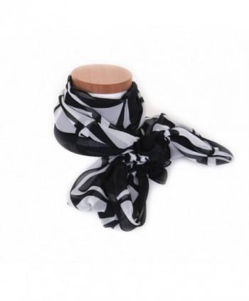 K-Martins Fashion Scarves Lightweight Scarf Soft Chiffon Scarf Kremer Muffler - B10-ff - C812NVFSK4K