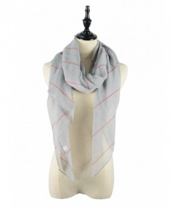 Womens Lightweight Fashion Striped Scarves