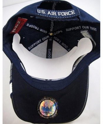 Unique Disabled Force Veteran Shadow in Men's Baseball Caps
