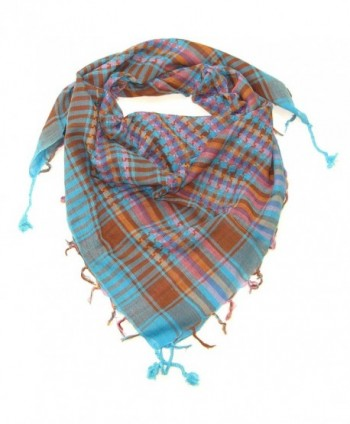 Lovarzi Desert Scarf - Stylish & versatile desert scarf for Men & Women - Blue - CQ11HQWT9S1