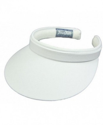 Town Talk Clip-On 3-inch Visor-White - CD114AKJAZ7