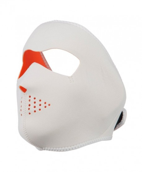 Neoprene Full Face Mask - Orange White OSFM - CQ11ND5IS2N