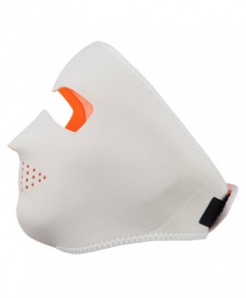 Neoprene Full Face Mask Orange in Men's Balaclavas