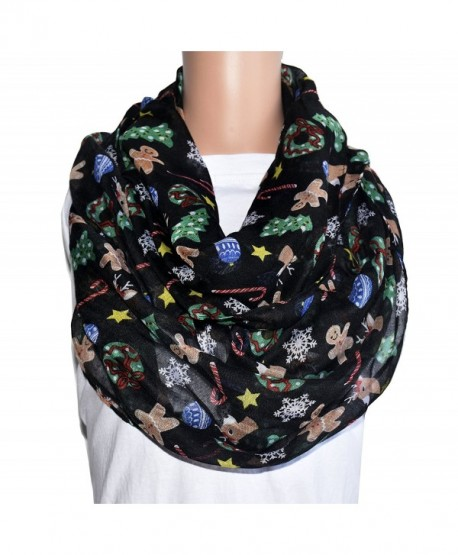 tooto merry christmas sheer lightweight scarf print shawl for christmas season infinity scarf cq188y9hct3