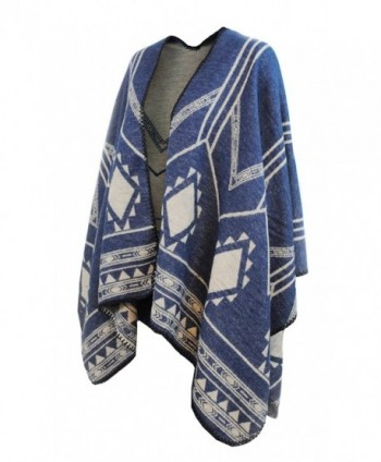 Poncho Winter Scarf Knitted Shawl