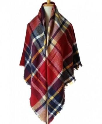 MOTINE Blanket Stylish Pashmina Burgundy
