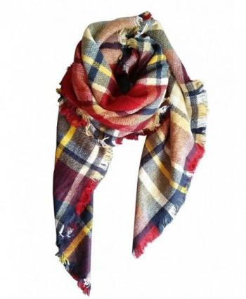 MOTINE Blanket Stylish Pashmina Burgundy in Wraps & Pashminas