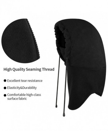 Lonew Balaclava Fleece Hood Heavyweight in Women's Cold Weather Neck Gaiters