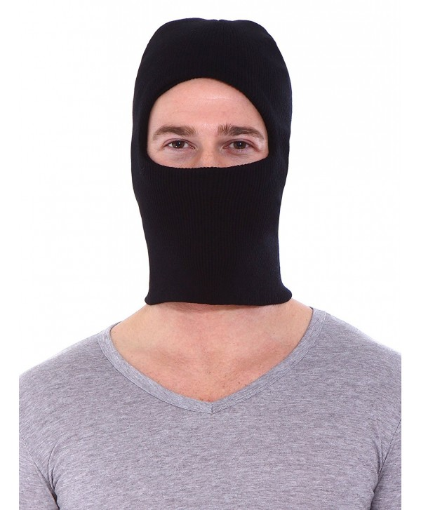 Simplicity Winter Warm Balaclava Outdoor Sports Ski Full Face Mask- Black - CP11BATYCW3
