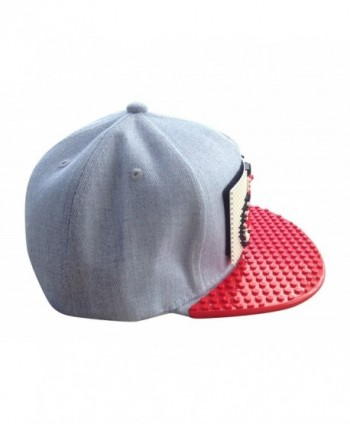 Baseball Snapbacks Fashion Building Block in Men's Baseball Caps