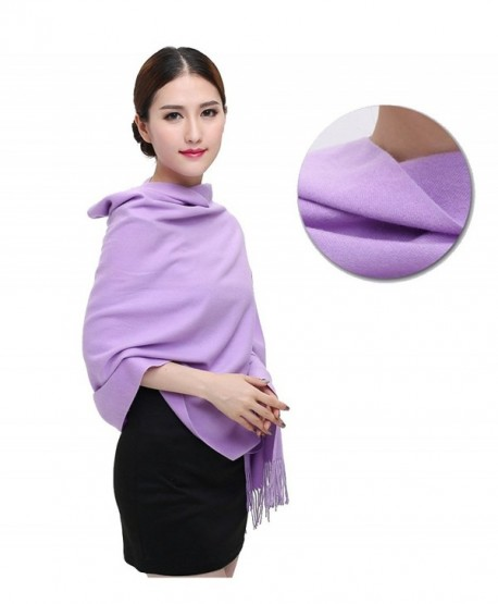 GG SELLING Cashmere Warm Scarf Shawl for Women and Men Super Soft 26x70 inches (8 colors) - Purple - CB187KDQRS5