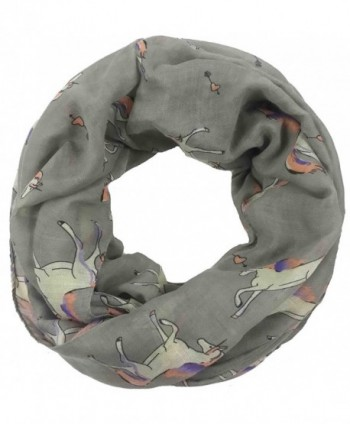Lina Lily Unicorn Infinity Lightweight in Fashion Scarves