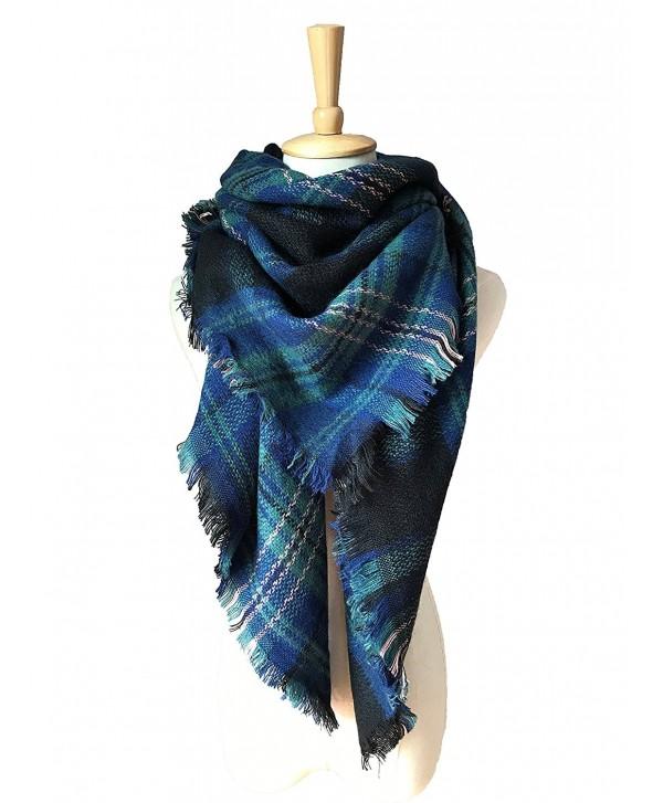 Women Acrylic Pashminas Scarf Warm Soft Scarves - 24 - C0188SWEQ6A
