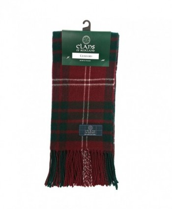 Clans Of Scotland Pure New Wool Scottish Tartan Scarf Crawford (One Size) - CF1257AONPV