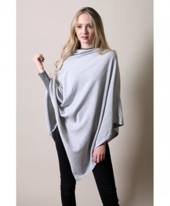 Organic Cotton Poncho All Season Eco friendly