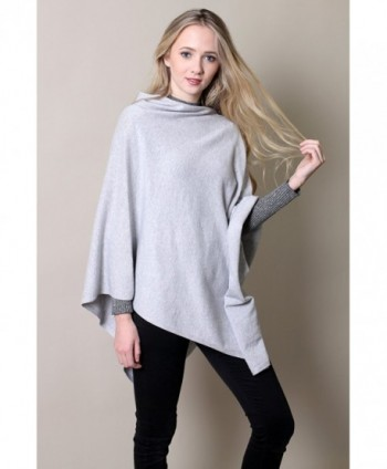 Organic Cotton Poncho All Season Eco friendly in Wraps & Pashminas