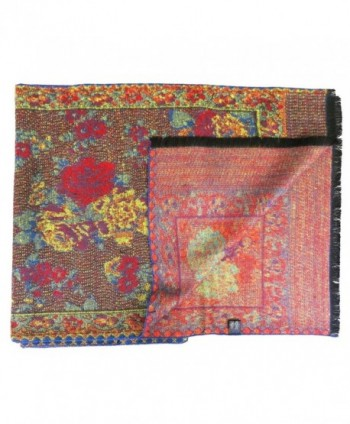 Topaz Sun Tapestry Print Cashmere in Fashion Scarves