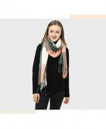 Plaid Scarf Womens Winter Pashmina
