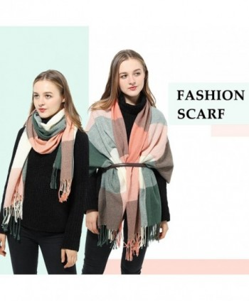 Plaid Scarf Womens Winter Pashmina in Fashion Scarves