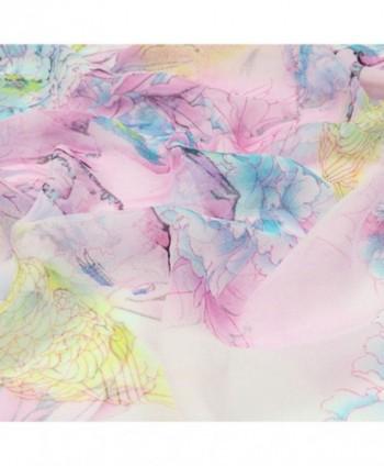 Freedi Lightweight Scarves Chiffon Flowers in Fashion Scarves