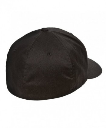 Flexfit Athletic Baseball Fitted Black in Men's Baseball Caps