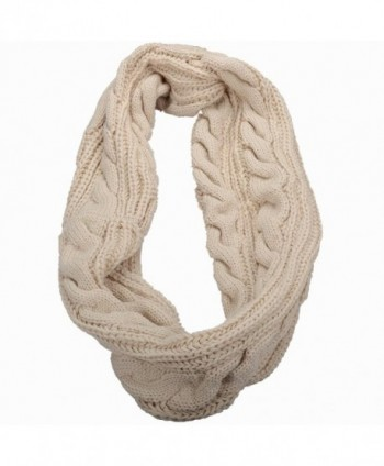 NEOSAN Womens Ribbed Winter Infinity in Fashion Scarves