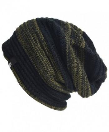 Slouch Beanie Stretchy CDB306 Green
