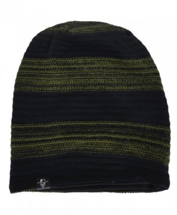 Slouch Beanie Stretchy CDB306 Green in Men's Skullies & Beanies