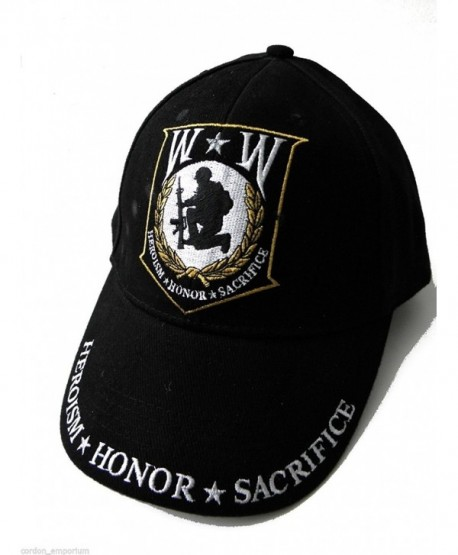 Wounded Warrior Embroidered Low Profile Cap - Ships within 24 Hours - CK11RMGU7GJ