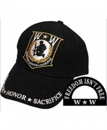 Wounded Warrior Embroidered Low Profile