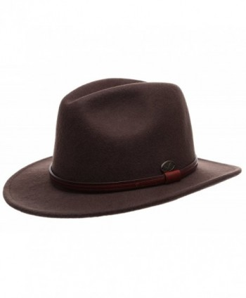 Premium Outback Fedora Leather MIRMARU