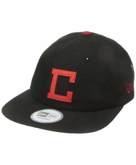 Crooks & Castles Men's Woven Strapback Cap-Crooks L.a. - Black - CP12BCT05IL