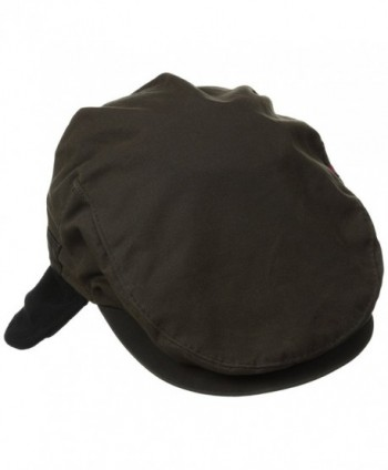 Woolrich Men's Wax Cotton Ivy Hat - Brown - CI11NI5TT8Z