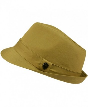 Cotton Summer Fedora Trilby Hat