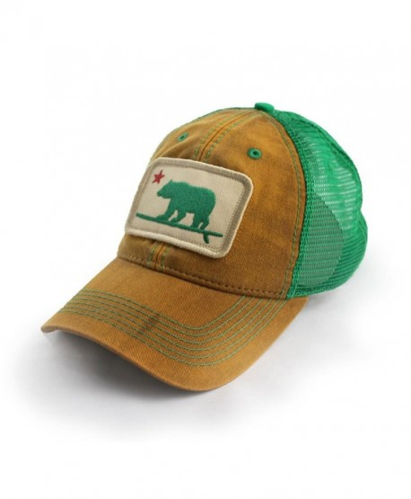 Everyday Trucker Hat Surfing Bear- Earth Khaki - CG12ITYG65X
