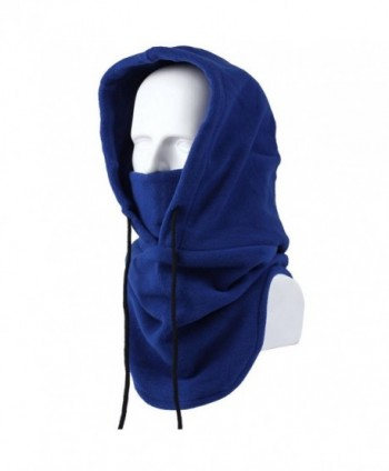 AStorePlus Ski Windproof Hat- Winter Warm Fleece Balaclava Hooded Face Mask Neck Warmer Snowboard Mask - Blue - C412O3AZ5KE
