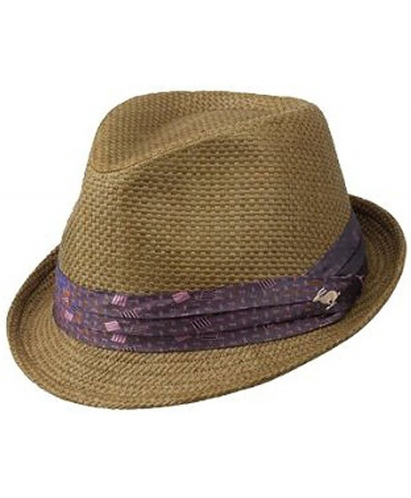 Peter Grimm Stoli Fedora- Brown Small/Medium - CQ115W5NVSX