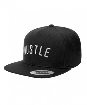 500 LEVEL Gary Vaynerchuk Snapback Hat - GaryVee Hustle Arc W - Black - CU182TN3QZN