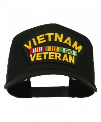Vietnam Veteran Military Patched Mesh