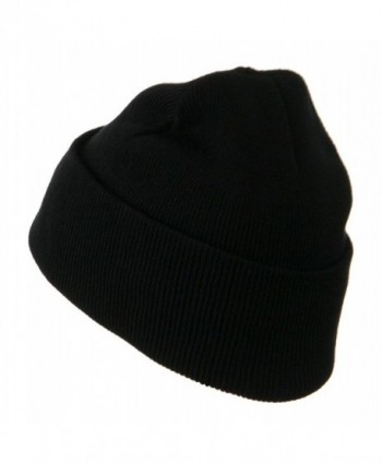Military Embroidered Beanie Security OSFM