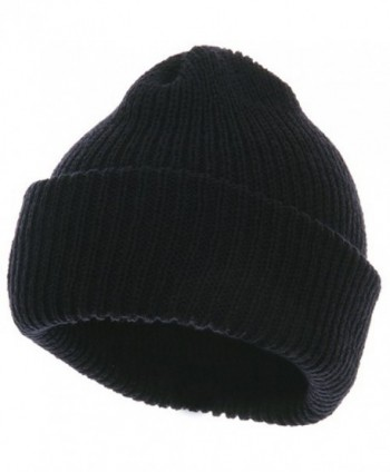 Heavy Weight Watch Cap Beanie - Navy - CY114YSS1HF