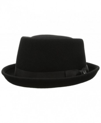 Peter Grimm Men's Warren Hat - Black - CI11HY6L2IJ