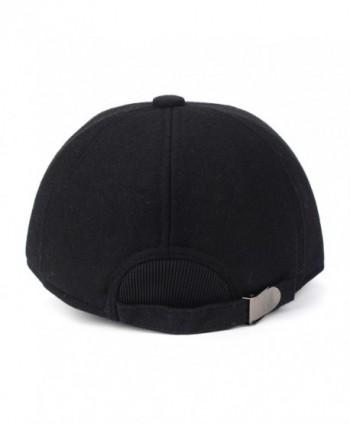 Flammi Fleece Lined Earflap Adjustable Baseball in Men's Baseball Caps