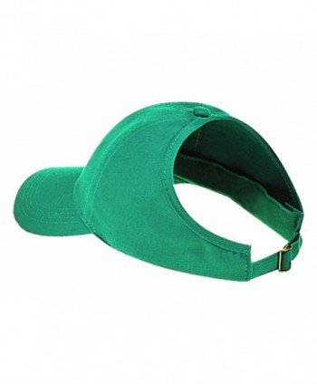 Otto Caps Brushed Cotton Twill Ponytail Low Profile Pro Style Caps - Jade - CJ11U5K7POV