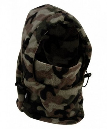 Full 90 Eforstore 6 In 1 Thermal Fleece Balaclava Hat Hood Police SWAT Ski Bike Wind Stopper Mask - Camouflage - CQ12NZ7JJD9