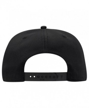 Otto Cotton Twill Round Snapback